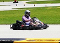 Dan karting at Road America